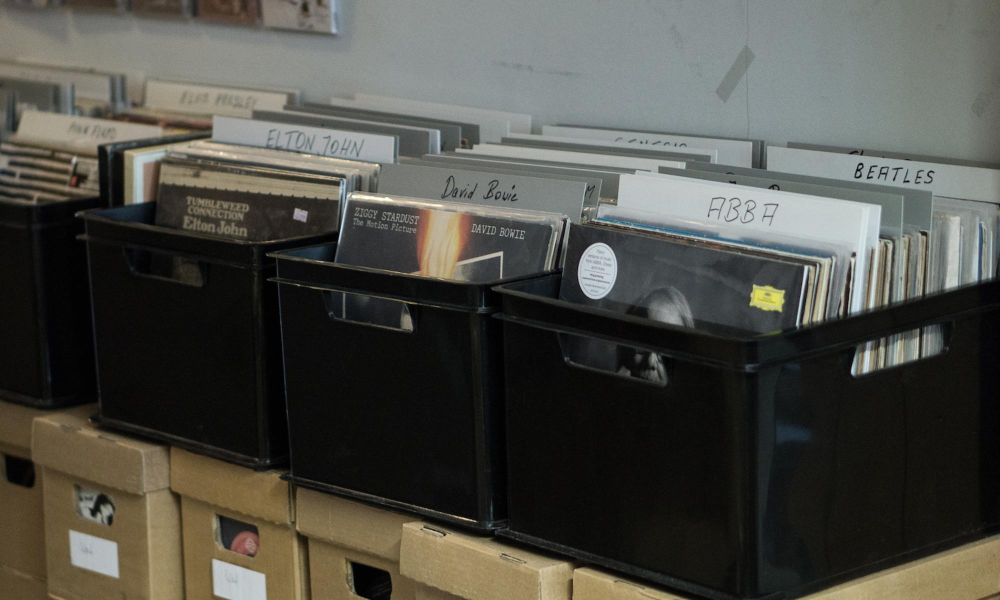 Schallplattenladen Stralsund